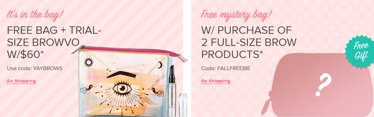 free makeup samples free shipping 2019