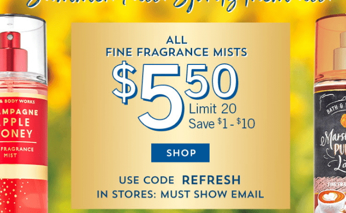 20% Off 50 ! Bath And Body Works Promo Code ! Free Shipping August, '2020 - Promo Code For 2020
